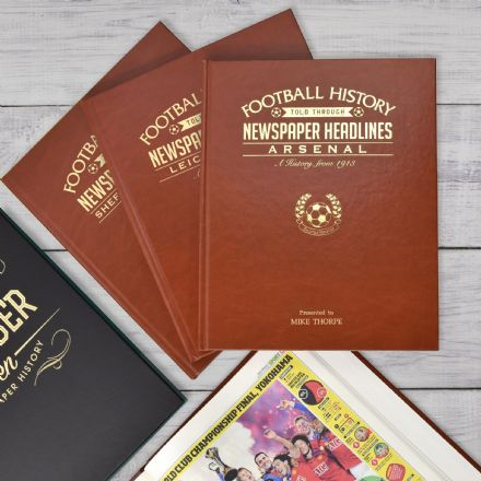 Personalised Football Books A3